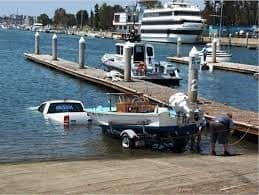 How not to launch your boat!